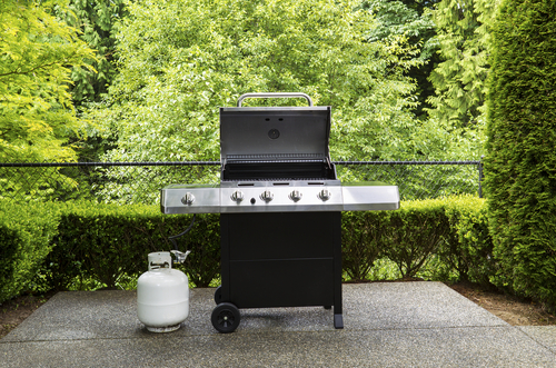 outdoor propane grill